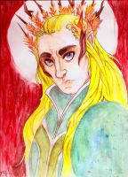 Thranduil by huntress-for-life