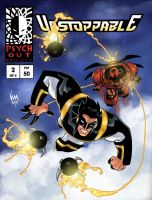 Unstoppable 2 Cover colored by wrathofkhan