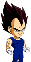 Vegeta bs chibi by maffo1989