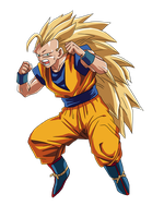 Super Saiyan 3 Goku by RuokDbz98