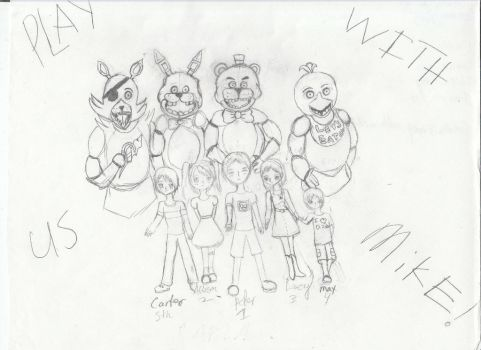 Poor Little Souls (five nights at freddy's) by iRedRose