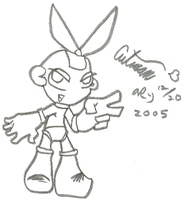 Cutman Chibi by Author-Goddess