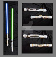 The Lightsabers of  Fortris Gall by Krasi90