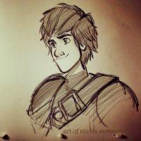 Hiccup sketch! :D by nicolasammarco