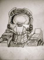 Master Chief by Ashahteh