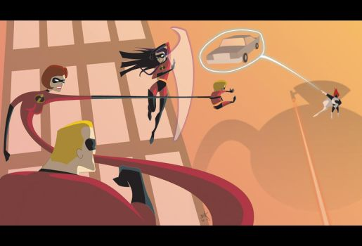The Incredibles by digital-vox