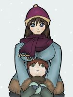 Bundled Up, Colored by takaiBiscuit