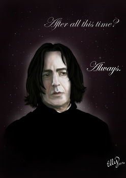 In Memory of Alan Rickman by ElzieBanana
