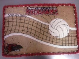 RedHawks Volleyball by MysteriousFoxThief