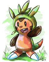 Chespin by Alex-Wolfy