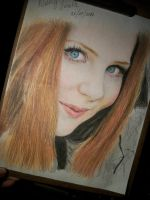 Simone Simons Color by LaPicher