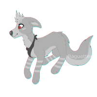 silver chibi by Baguettee