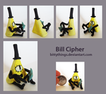 Bill Cipher - SOLD by Bittythings