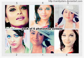 photoshop actions pack 2 by vanitystars