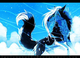 .: 50 Shades Of Blue :. by Agelenawolf