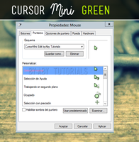 Cursor mini Green - CURSOR by ForeverYoung320
