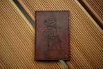 Fallout Vault Boy Leather Passport Case by Arnakhat