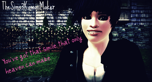 You've got that smile by TheSims3KawaiiMaker