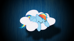 Rainbow Dash wallpaper by SneezePin