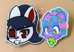 Furry Fashion Head Pins FOR SALE by UltraPancake