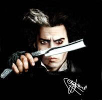 Sweeney todd by JawadSparda