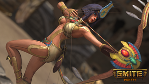 Smite: Neith by HoiHoiSan