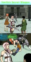 Vanille's Secret Weapon FFXIII by TearsOfBloodDesu