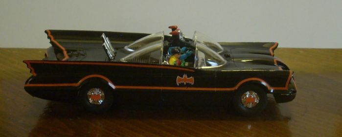 Classic Batmobile Side Elevation by NihonFreakMB