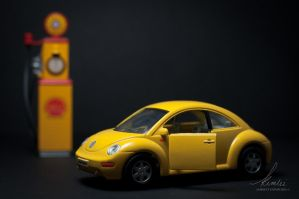 Day 7: The Yellow Beetle by xXDArtistxX