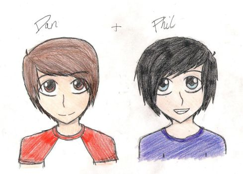 Dan and Phil by CheesyPuffz