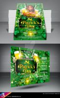 St. Patrick's Day Party Flyer Template by AnotherBcreation