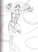 Wonder Woman Sketch 3 by Comix-Chick
