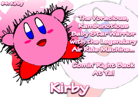 AMPic 4 (Remake) : Kirby the Star Warrior by AmpleDeviant