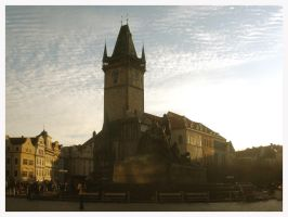Old city hall in Prague by What-is-worth