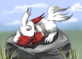 -POM- Shht:  Sleepy Zangoose by Yakuun
