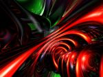 Angry Clown Abstract by AlexButler