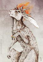 The Hare King by Saagai