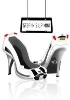 Step Into Ur Mini Cooper by EatSleepDreamDesign