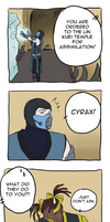 Lin Kuei methods are really mean! by Sanshikisumire