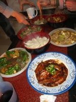 Chinese New Years dinner by Laura-in-china