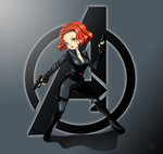 FanArt - Black Widow by SanoWasHere