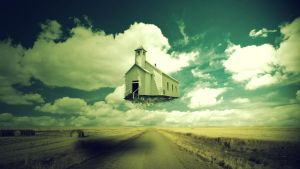 Flying House by mankut31