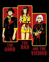 The Good, the Bad and the Vicious by ninjaink