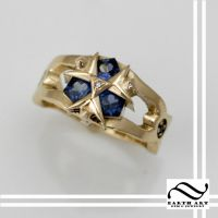 Zora Sapphire Engagement Ring by mooredesign13
