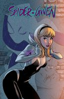 Spider Gwen Color by logicfun