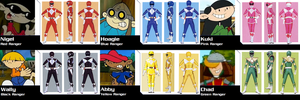 Codename: KND MMPR for DisneyBrony2012 by AdrenalineRush1996
