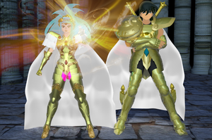 Saint Seiya Omega - Integra e Shiryu by Wets01