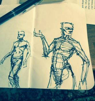 sketchin by thebestwes