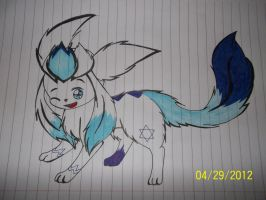 Snowflake the glaceon by snowflake95