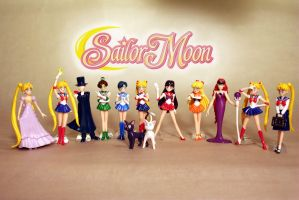 Italian Sailor Moon Set by MoonFigures